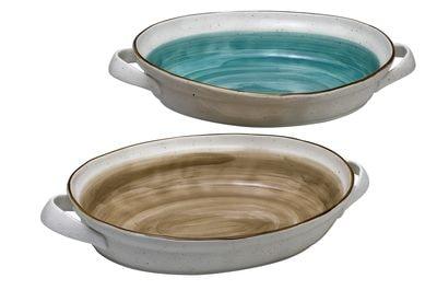 1 5436102 hfa taci pyrimaxo country oval brown new bone china 40 x 262 x 62