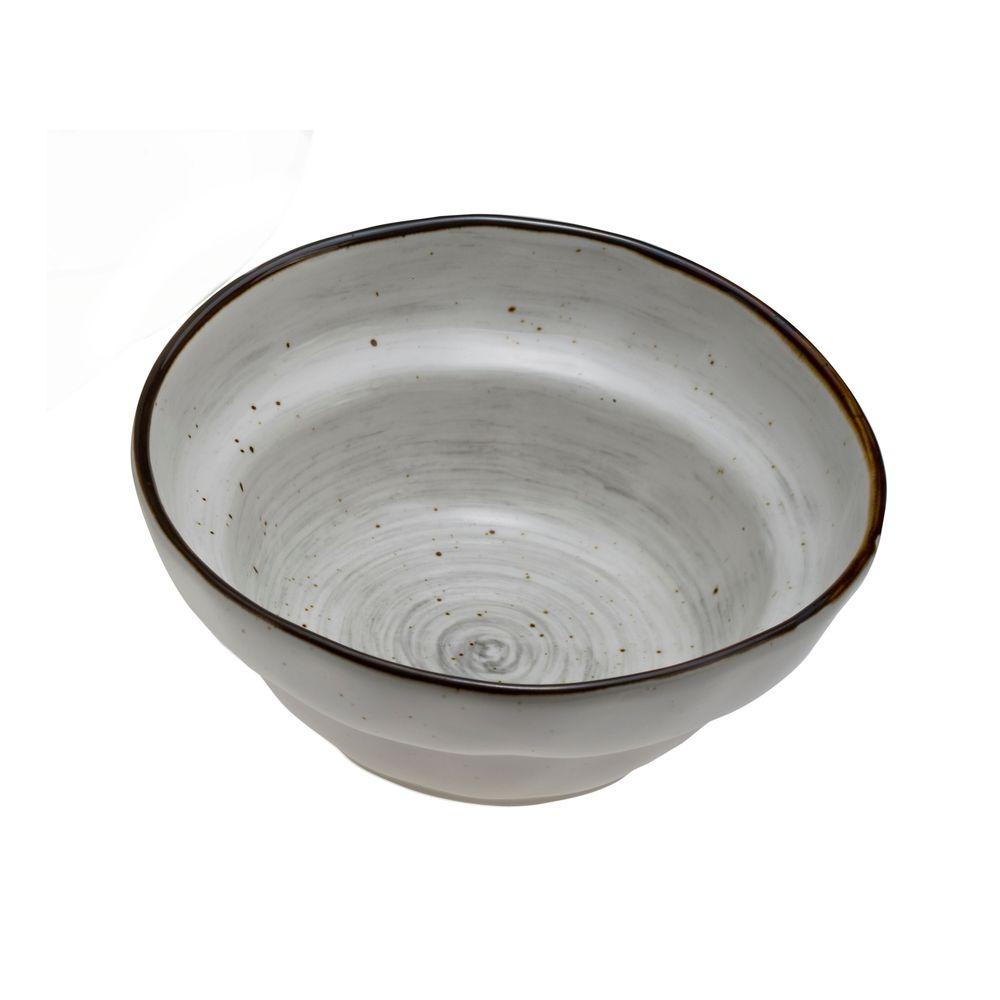 1 5439203 hfa salatiera stroggyli country f20 grey new bone china 207x207x81