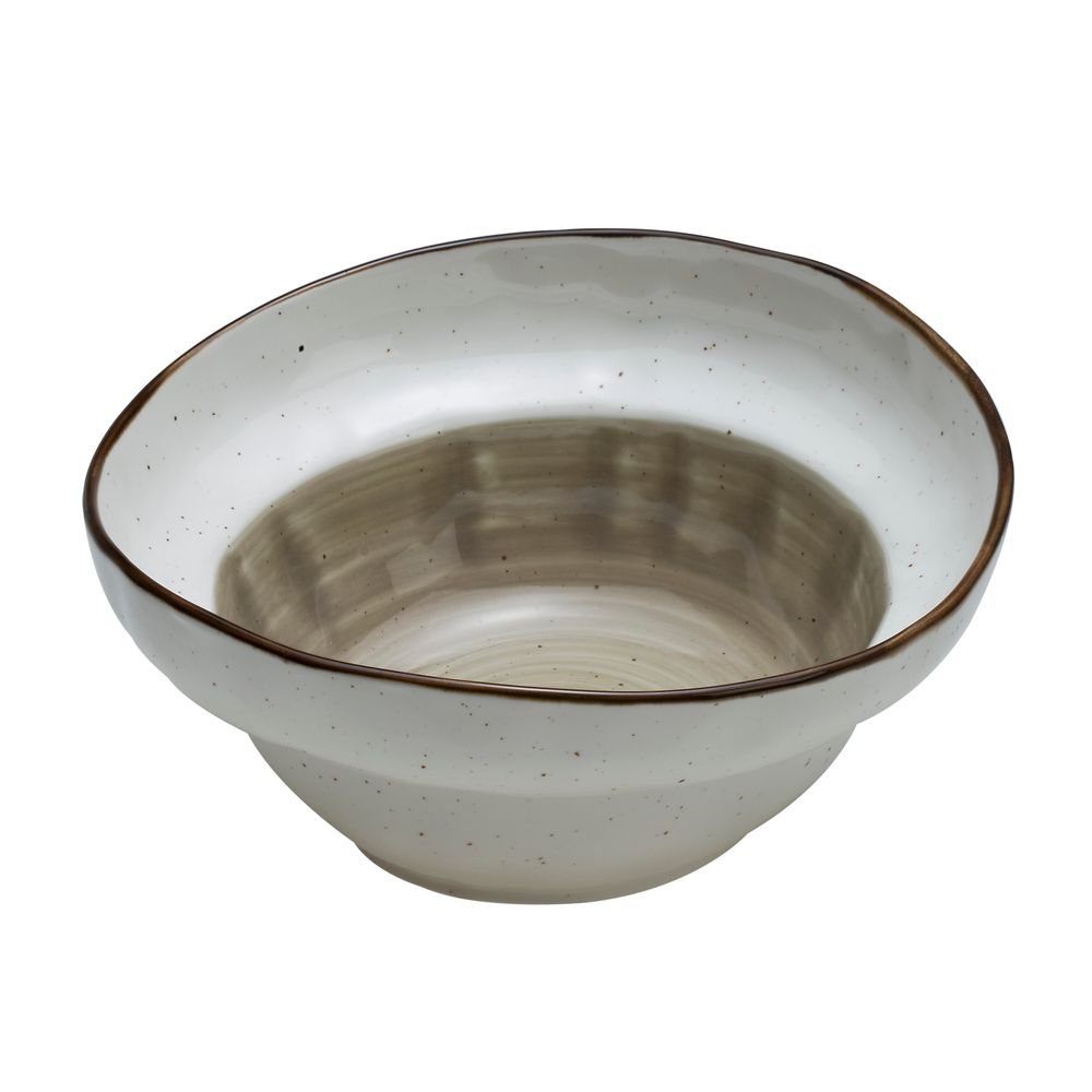 1 5439205 hfa salatiera stroggyli country f20 xaki porselani new bone china 207x207x81