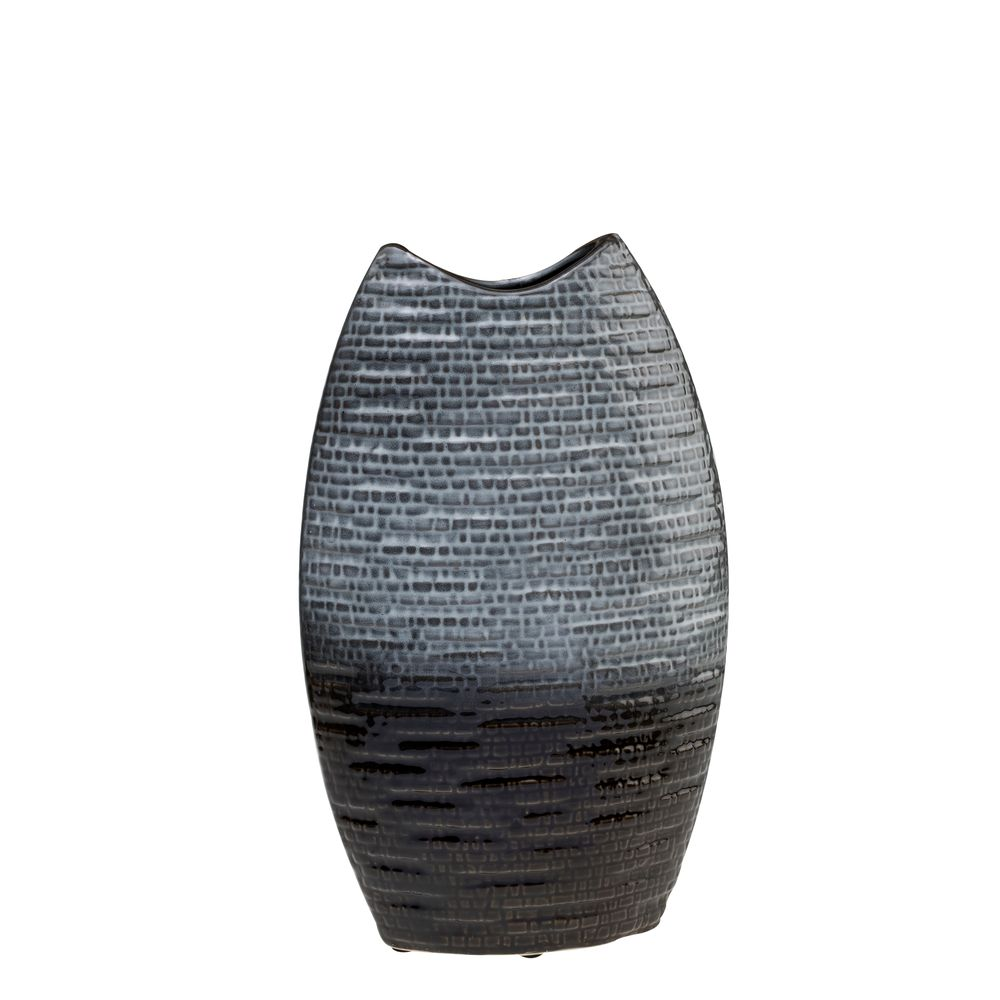 1 5483001 hfa vazo grey fusion oval keramiko 35 ek