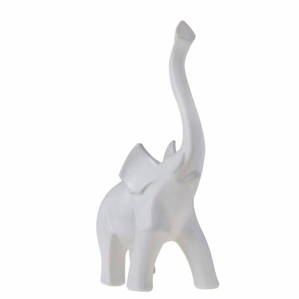 1 5483029 hfa diakosmitiki figoyra mignon elefantas matt white 25ek